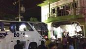 Автобус с российскими туристами протаранил дом