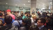 Хаос в аэропорту Барселоны