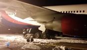 Azur Air садился в Барнауле с горящей стойкой шасси