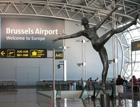 Рейс в Брюссель отменен