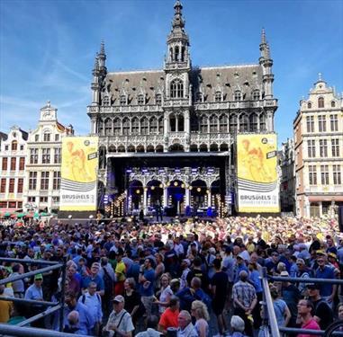 В Брюсселе большой ажиотаж