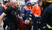 Около 50 человек пострадали при взрыве в метро С-Петербурга